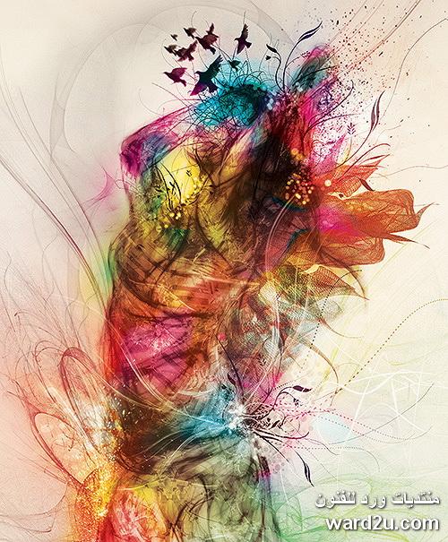 السحر بالضوء والالوان للفنان Tony Ariawan