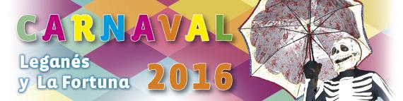 Carnavales 2016 en Leganés y La Fortuna