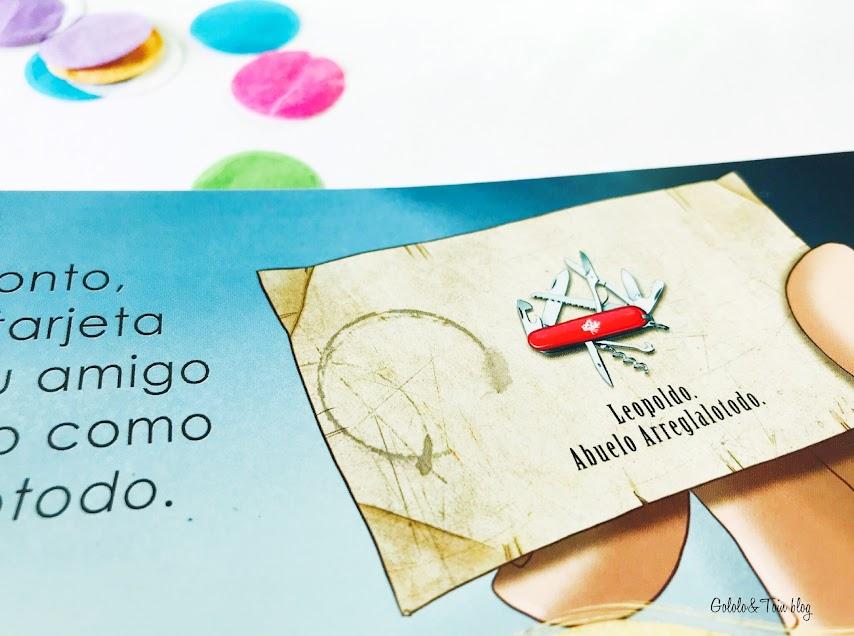 Album ilustrado Un abuelo en apuros de Amigos de Papel