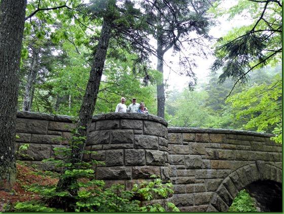 2017-6-17 26d Maine - Rainy - Hike  to Carriage Road Bridges & Waterfall - Waterfall Bridge 1925