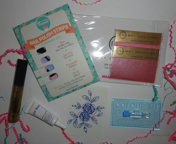 March 2016 Beauty Box Five 2