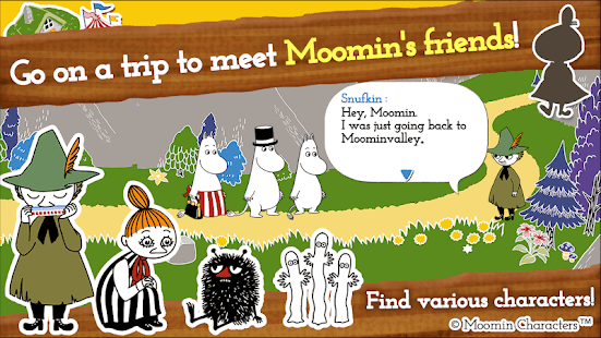 MOOMIN Welcome to Moominvalley Screenshot
