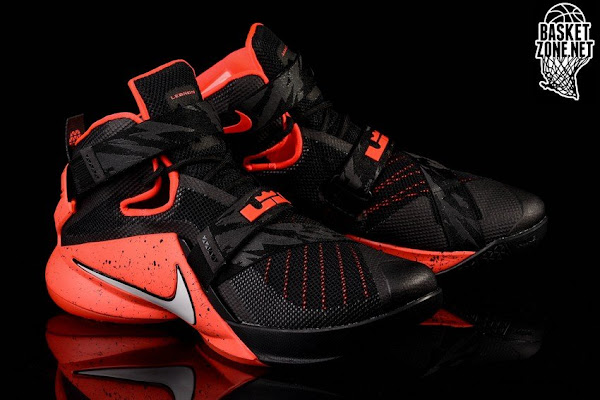 size 40 d5517 718ac Nike Goes Premium for Black and Red LeBron Soldier 9 | NIKE ...