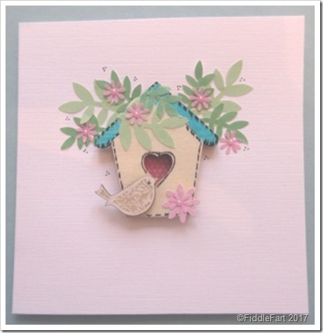 Bird and Bird House Card