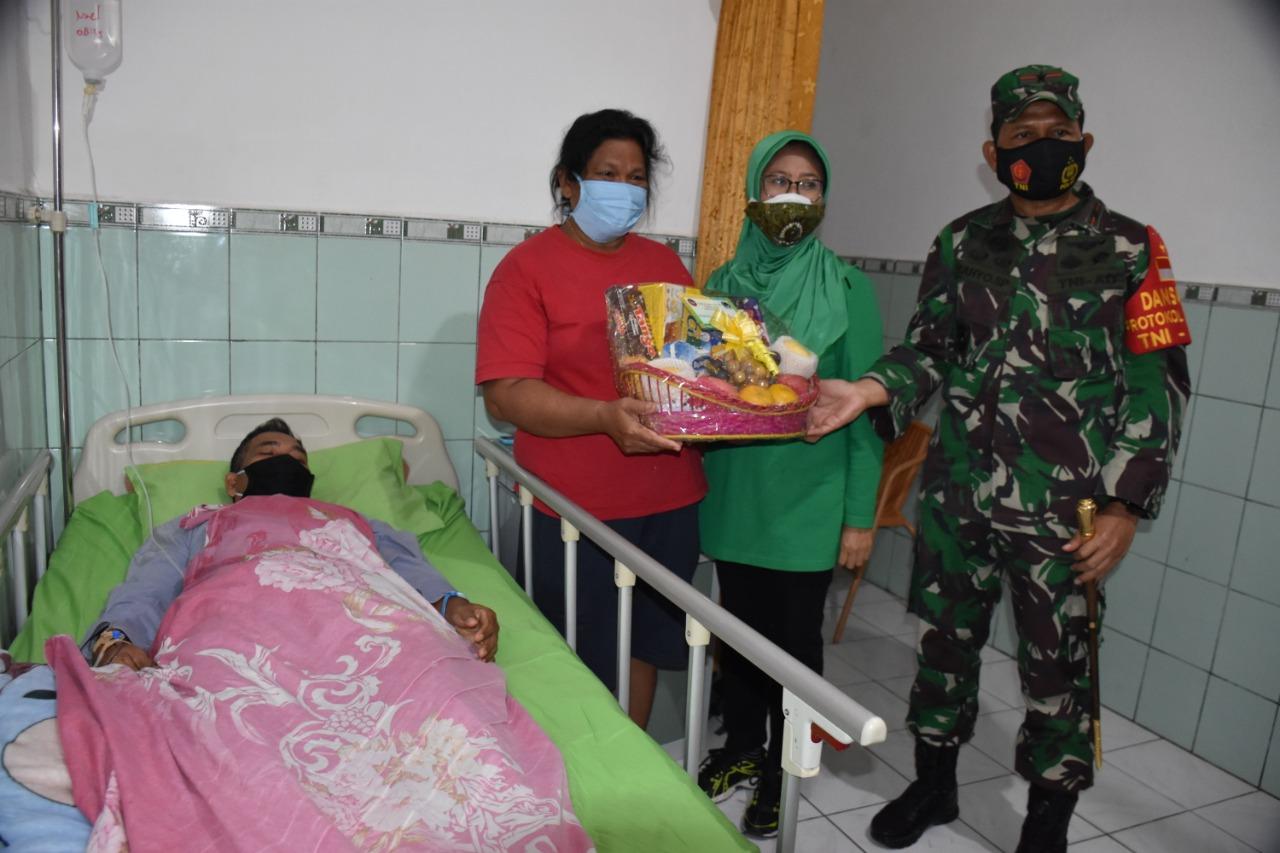Hari Juang Kartika, Danrem 091/ASN Kunjungi dan Rumkit Tk. IV Samarinda