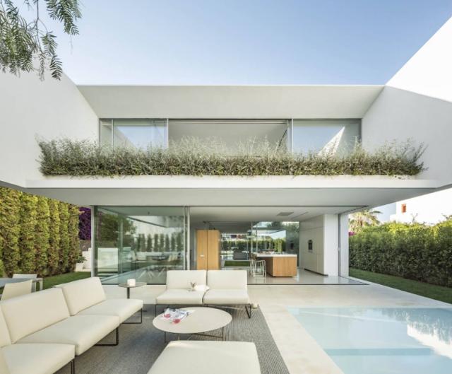 Nhà biệt thự đẹp kiến trúc hiện đại ở Ibiza  - The House of Three Trees