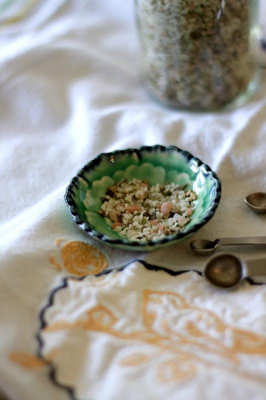 Italian Herb Salt freshly ground