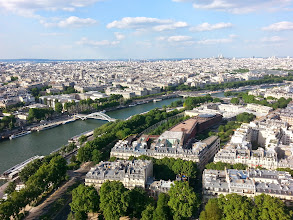 Photo: Views from the Eiffel Tower