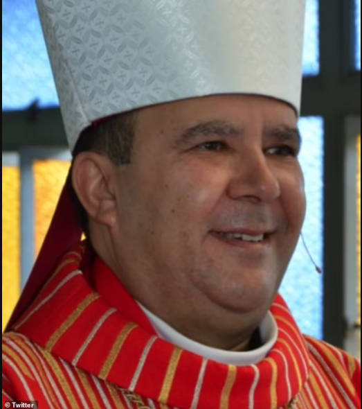 Brazilian bishop resigns after 'explicit video of him performing a x act on himself' leaks on the internet