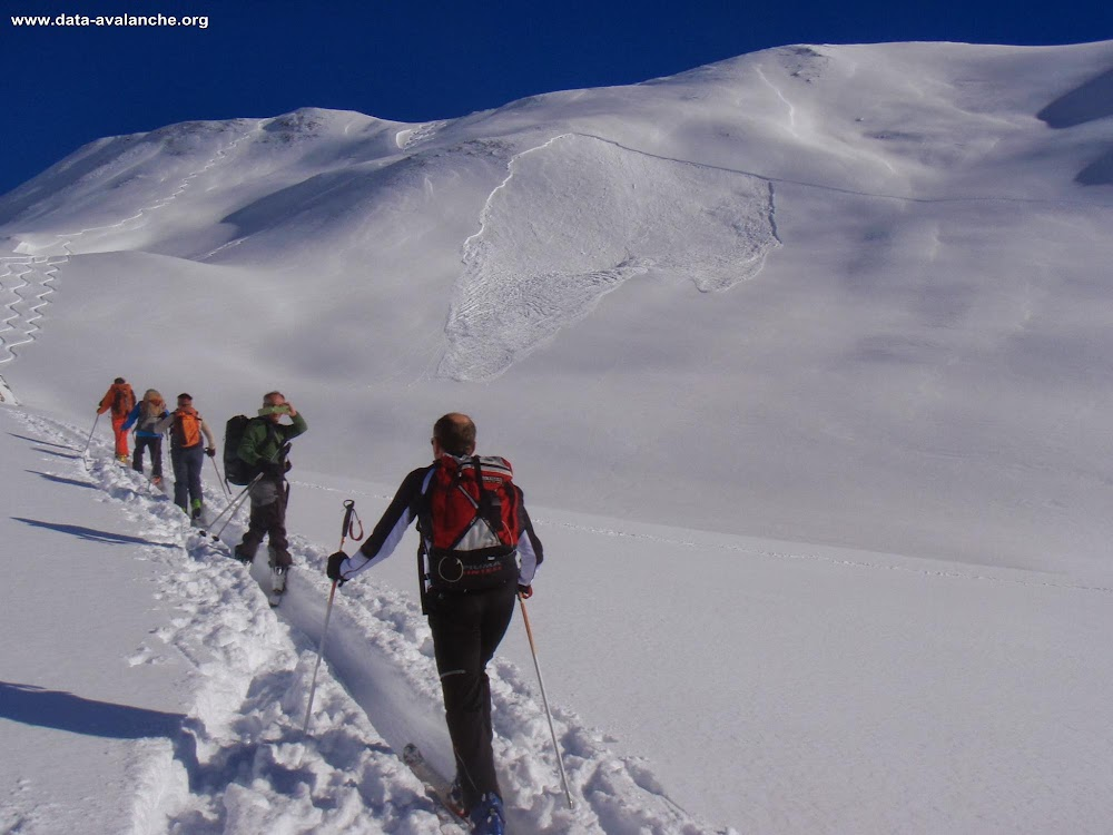Avalanche Beaufortain, secteur Mont Rosset - Photo 1