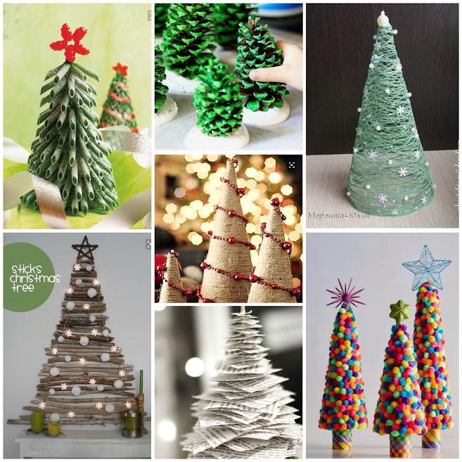 decoración-navidad-ideas-arboles-diy-manualidades