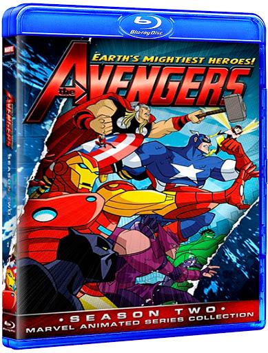 Os Vingadores - 2ª Temporada (2011) BluRay 1080p Dublado Download