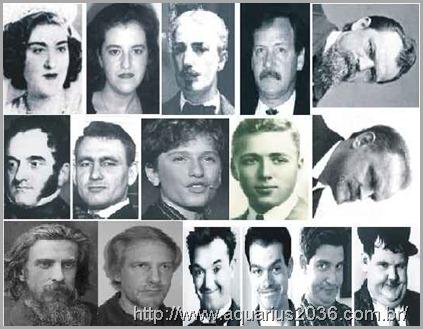 Casos de reencarnes com semelhancas faciais de vida para vida.