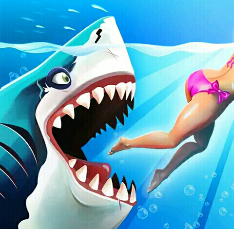 Download Hungry Shark World Mod Apk (Unlimited Coins, Gems, Pearls)