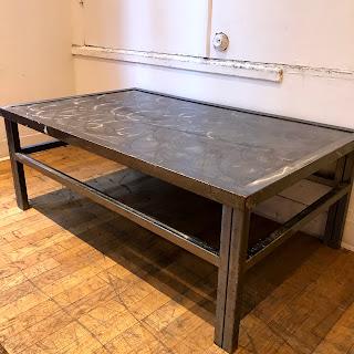 Industrial Steel Coffee Table