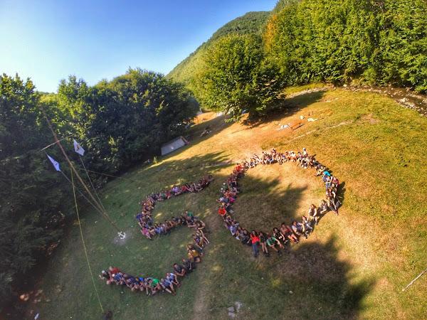 Grüße aus Rumänien von der Pfadfindergruppe Alba Iulia
