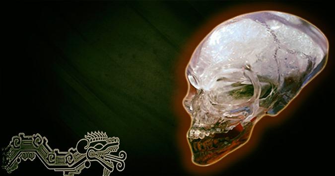 Os misteriosos crânios de cristal da Mesoamérica e sua conexão do outro mundo