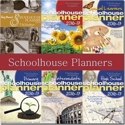 SchoolhouseTeachers Homeschool Planners
