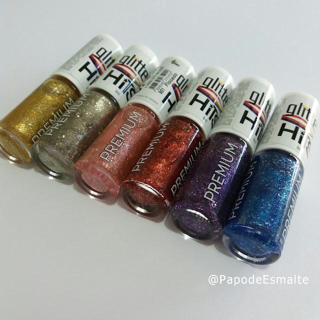 Coleção Glitter Flocado Hits Speciallità