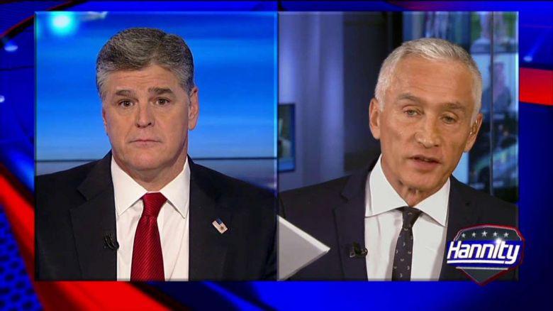 Sean Hannity slams Latino journalist for immigration 'agenda'