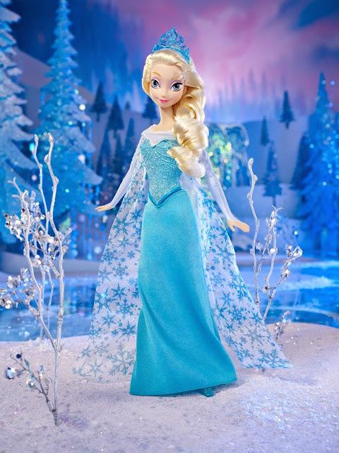 Đồ chơi Búp bê Nữ hoàng Băng giá Elsa Mattel Y9959