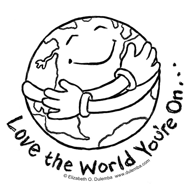 Earth Day Coloring Page  Bing Images