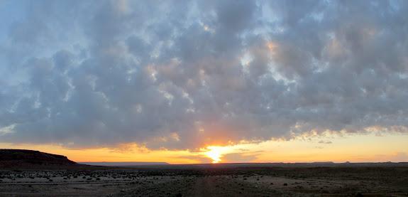 Friday's sunrise