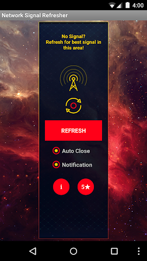Network Signal Refresher Pro Apps for Android screenshot