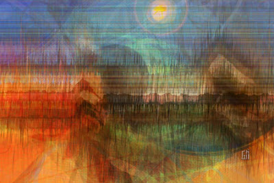 ".jpg :: 2015 :: digital giclée canvas print :: 1½"" stretcher frame :: 12 x 8 inches :: 1/1 :: $600 ;; Chestnut Hill Home ;; http://www.chestnuthillhomechagrin.com :: Greggory D. Hill :: American :: 1969 :: Breathing Color Chromata White canvas :: Bay Photo Lab :: Scotts Valley, CA"
