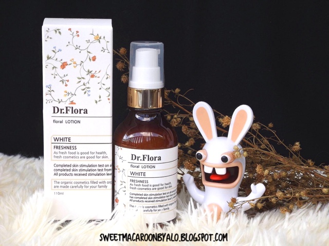 Dr. Flora White Nerolli Floral Water Lotion