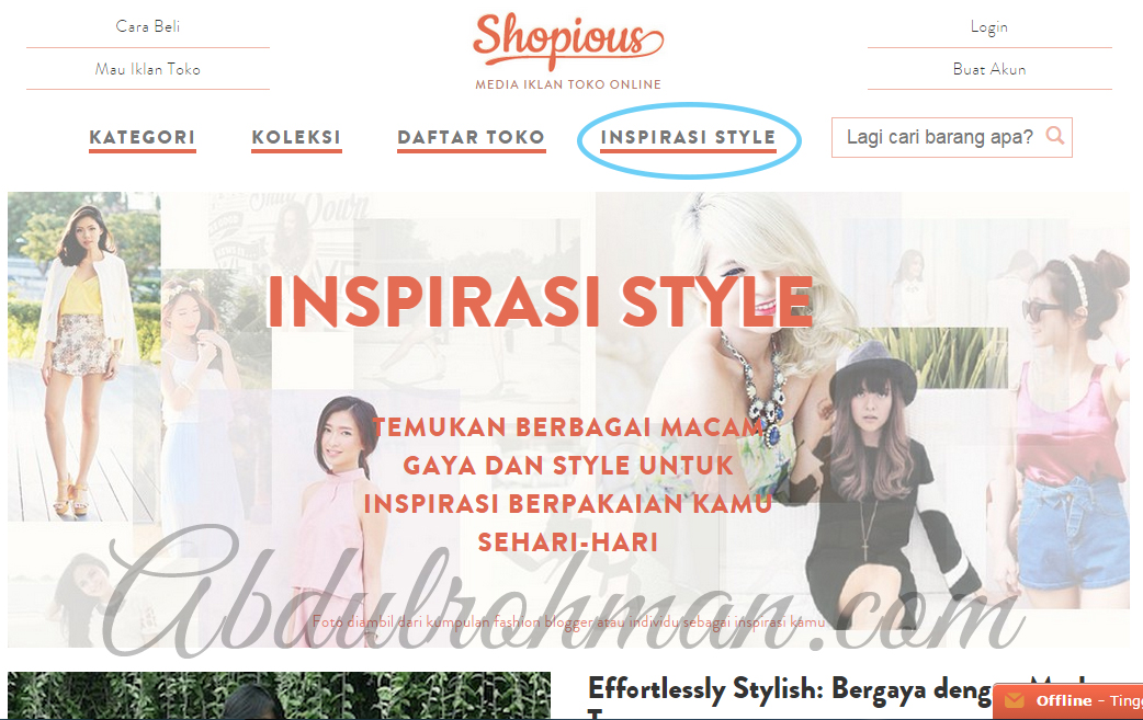 Website Shopious.com
