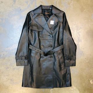 Coach NEW Leather Trench Coat
