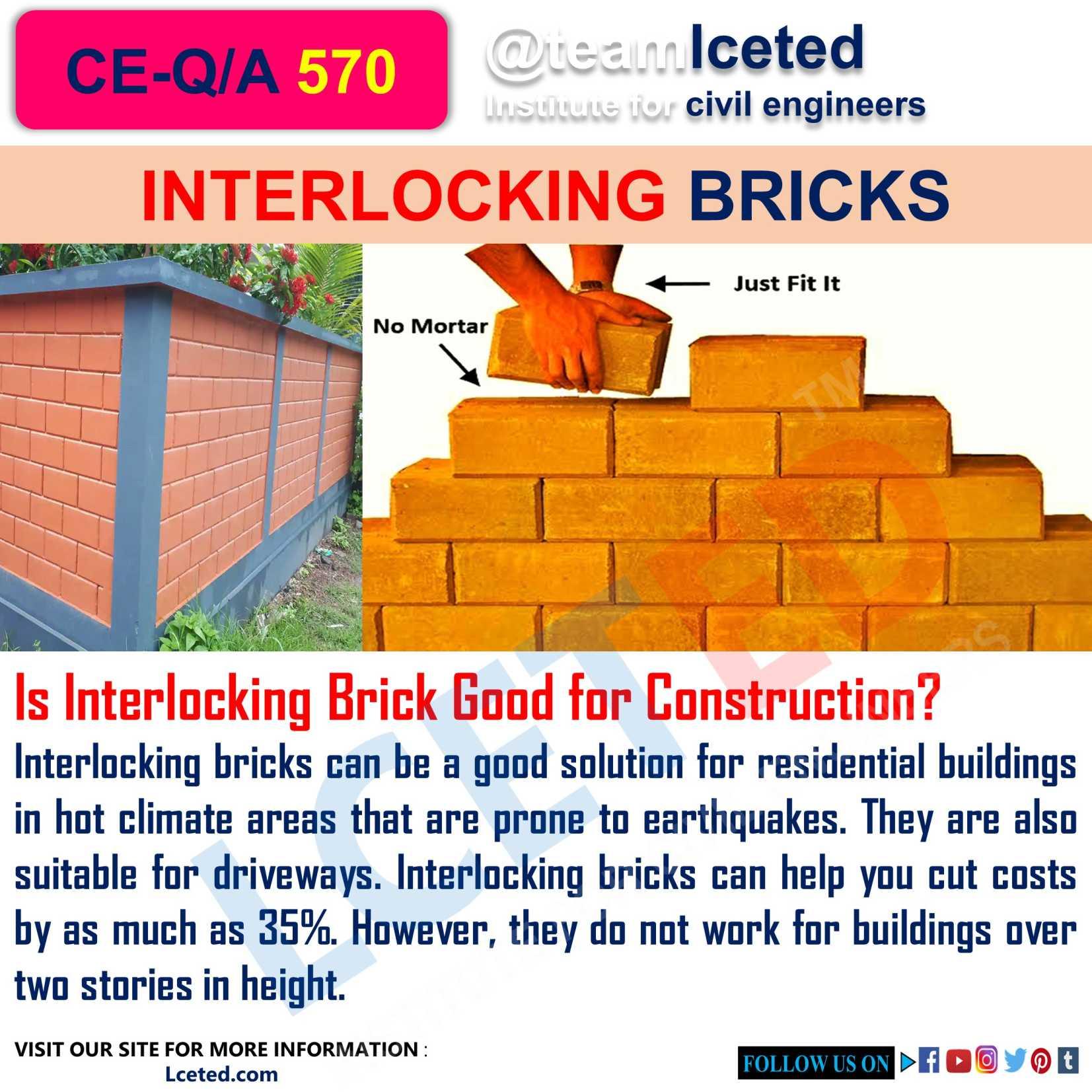 Is Interlocking Brick Good for Construction