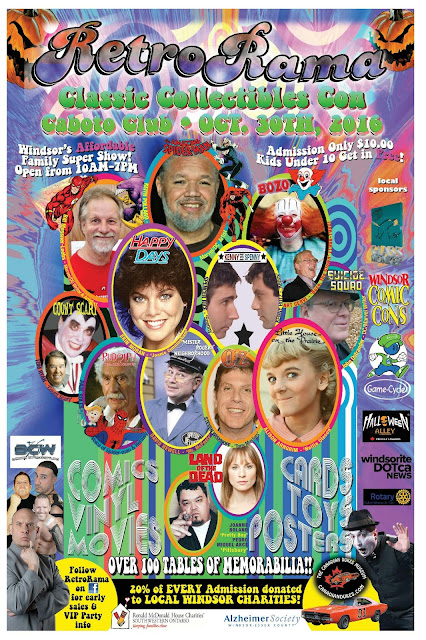 Vendors/Artists! Book NOW for Windsor's RetroRama w/3,000 attendees!
