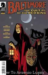 Actualización 11/07/2016: Gracias a un tradumaquetador anónimo tenemos el numero 3 de Baltimore: El Culto del Rey Rojo.