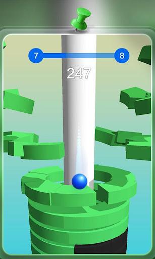 Code Triche Happy Stack Ball-crush helix jump mod apk screenshots 2