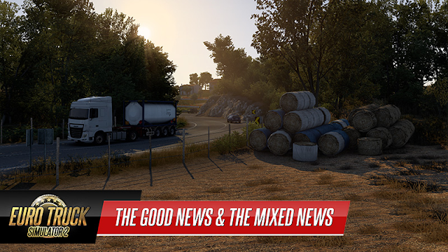 SCS SOFTWARE: As boas novas e as notícias confusas