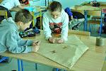 Latawce płaskie w wykonaniu uczniów kl. 4.
