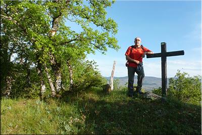 Cruz de Larrea  mendiaren gailurra 733 m. -- 2016ko maiatzaren 21ean