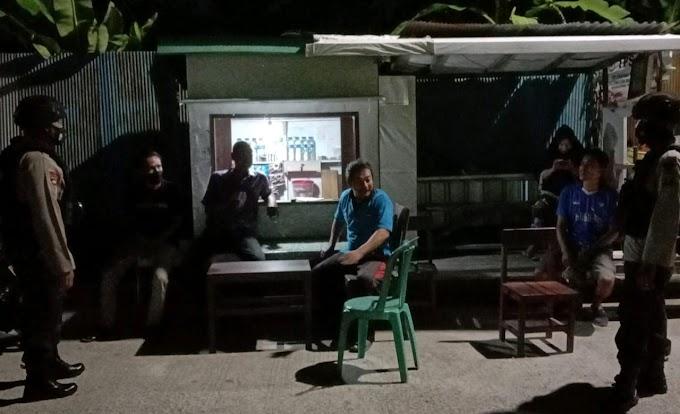 Sambang Pos Kamling, Salah Satu Upaya Brimob Kaltim Dalam Harkamtibmas