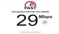 2. Cara Cek Kecepatan Internet dengan Fast