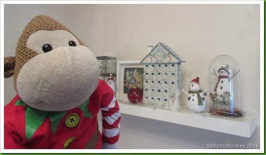 festive shelves