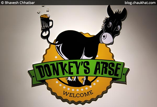 Logo of Donkey's Arse at Koregaon Park in Pune