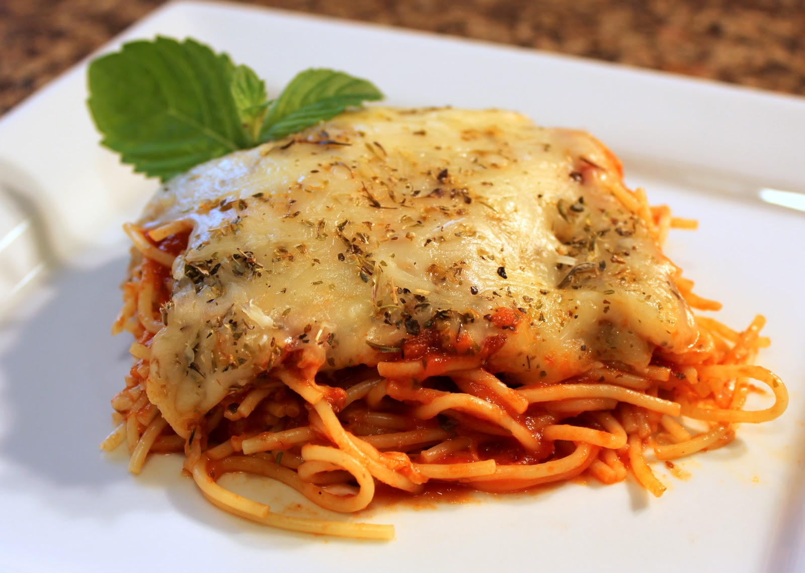 Recipe Snobs: Baked Spaghetti
