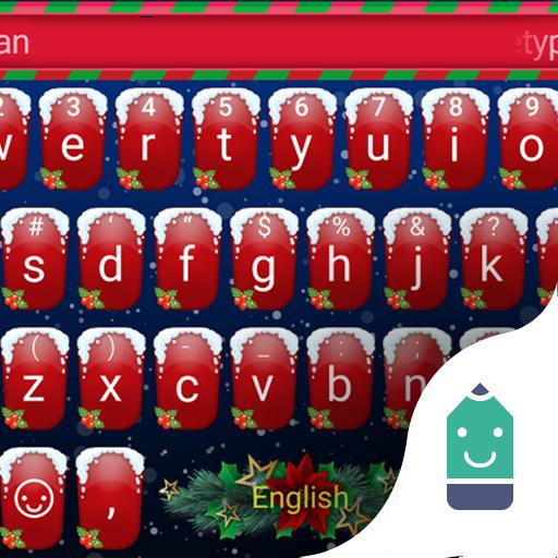 Merry Christmas Theme Keyboard