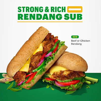 Rendang Subway Malaysia Sedap! 10,000 Sandwic Disumbangkan Kepada Petugas Barisan Hadapan Dan Sukarelawan