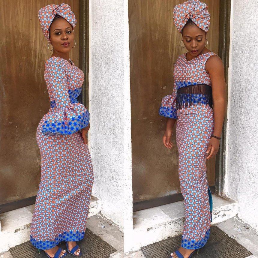 mishono ya vitenge nigeria Trends 2018 5
