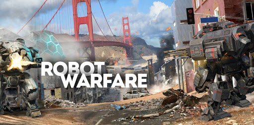 Robot Warfare: Battle Mechs APK OBB Data