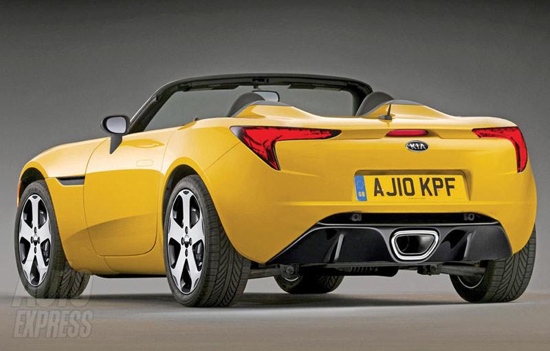 Kia Will Create A Two-seater Roadster Sport Super Car