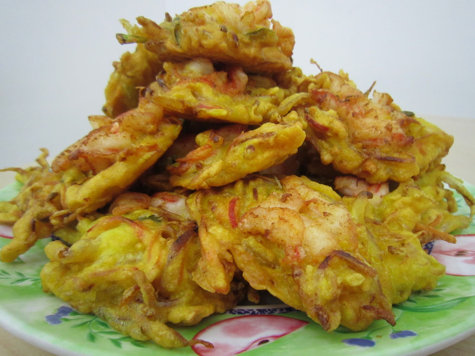 Gourmetology: Prawn Fritters (Cucur Udang) 炸虾脆饼
